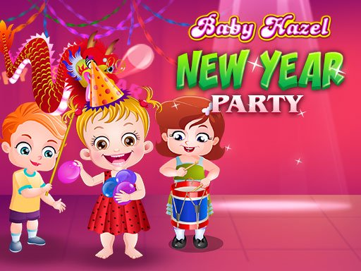 Baby Hazel New Year Party Online Online